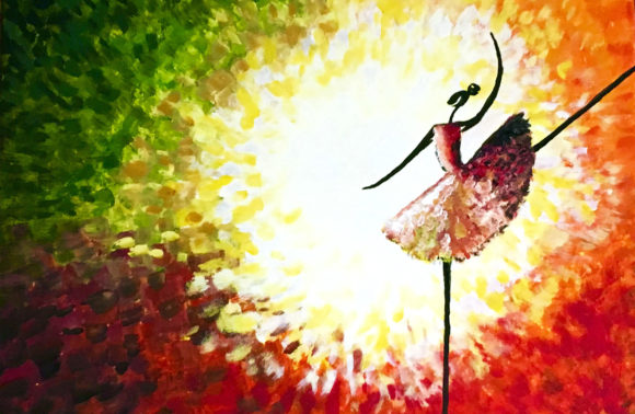 Afrikanische Tänzerin