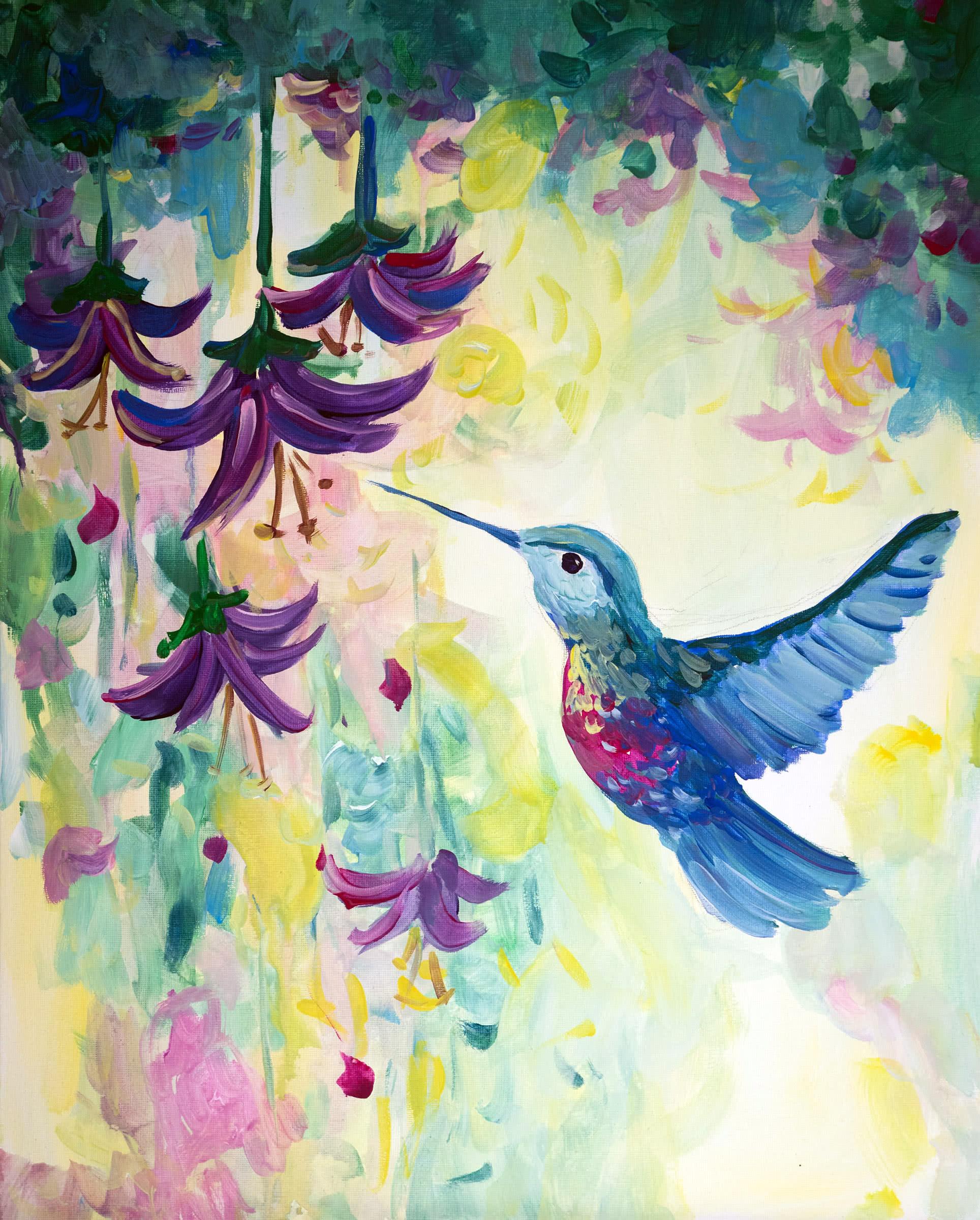 Leuchtender Kolibri - ArtMasters