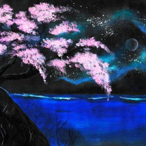 """""""Pacific Cherry Blossom"""" inkl. ein Gläschen Sekt zur Begrüßung"""