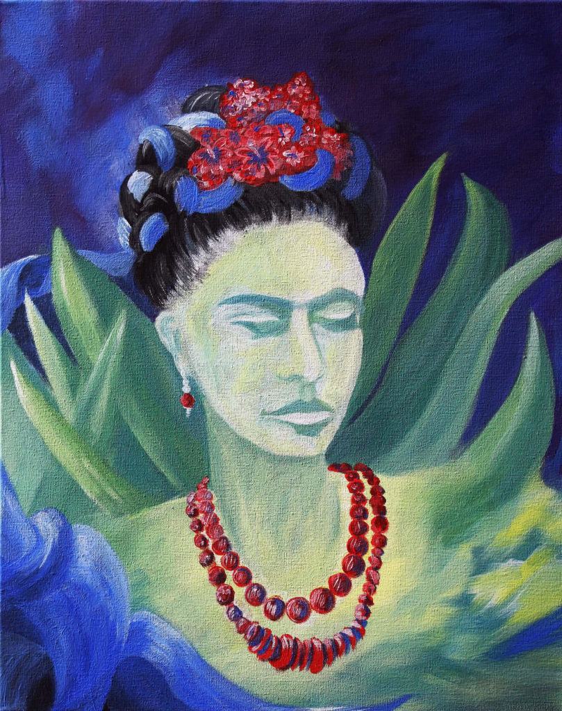 frida kahlo goes jungle artmasters. Black Bedroom Furniture Sets. Home Design Ideas