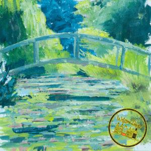 Paint Like Monet - Japanische Brücke