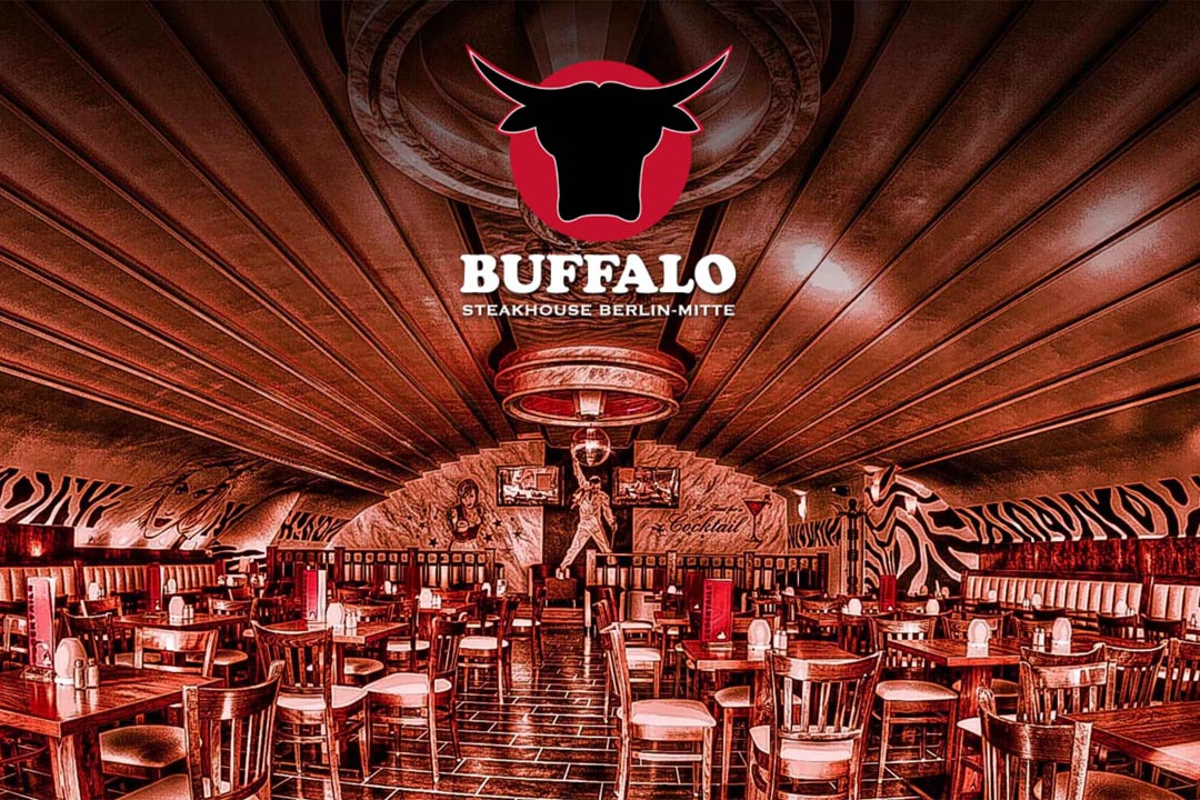 grill restaurant buffalo am adenauer platz artmasters. Black Bedroom Furniture Sets. Home Design Ideas
