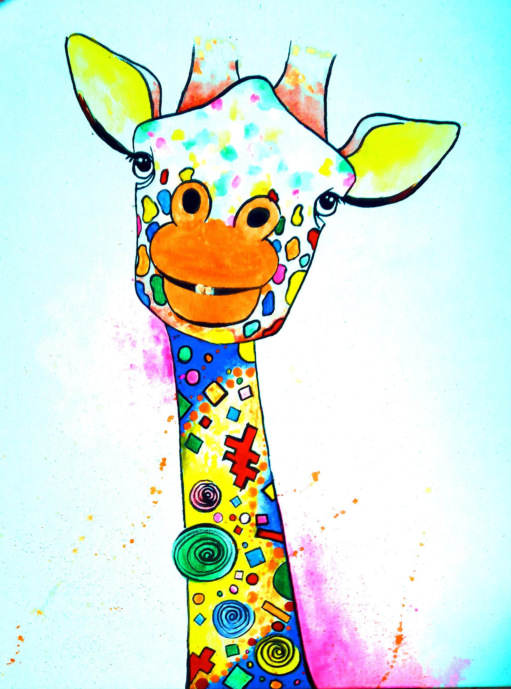 Funny Giraffe - ArtMasters