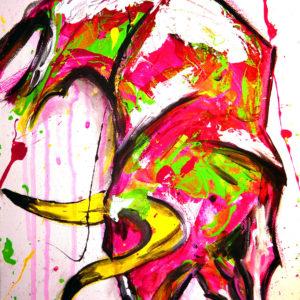 Neon Splash Bull