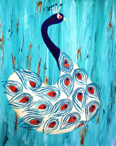 Peacock Abstraction