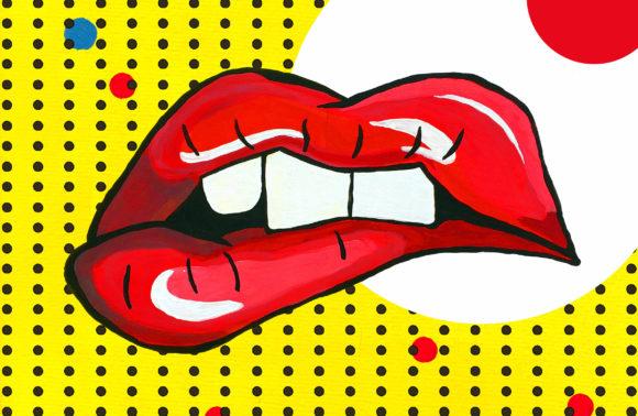 Pop-Art Mouth