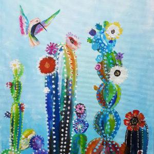 """""""Flower Bird"""" inkl. ein Gläschen Sekt zur Begrüßung"""