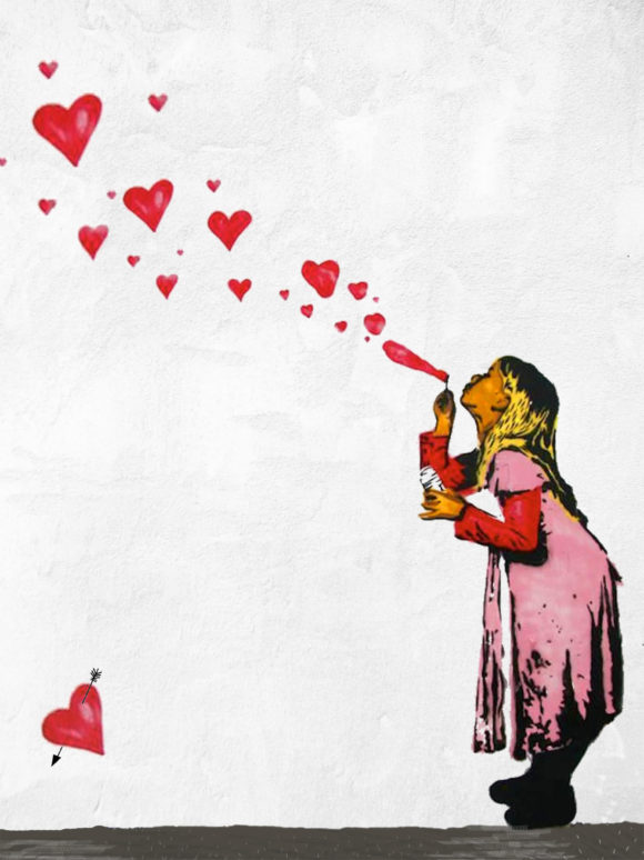 Banksy Love Is In The Air