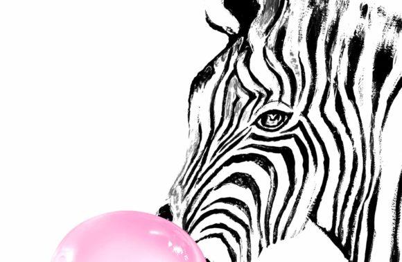 Bubbly Zebra