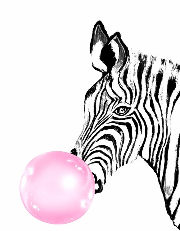Bubbly Zebra
