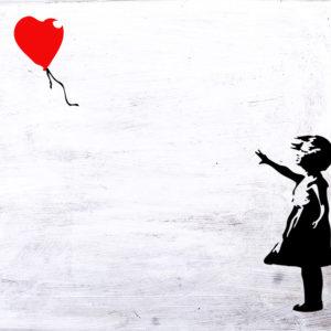 "Paint like Banksy ""Girl with Balloon"""