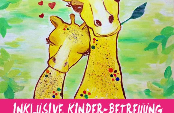 Lula die kleine Giraffe inkl. Kinderbetreuung