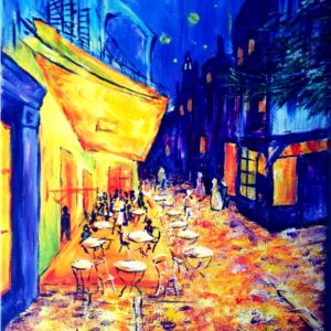 Paint Like Van Gogh – Café de Paris