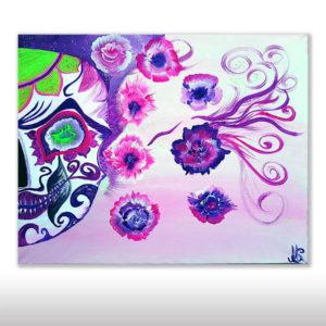 Mexican Flowerskull