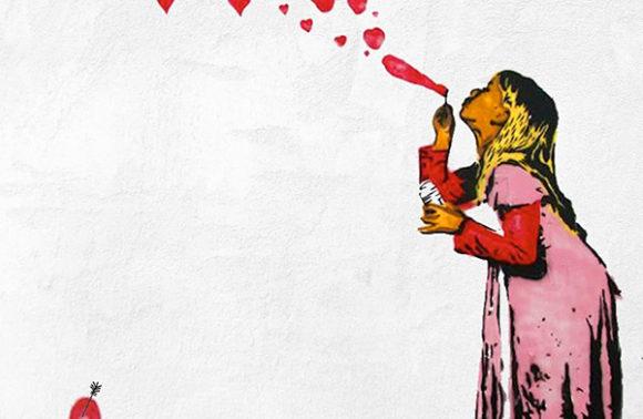 Paint Like Banksy Love Is In The Air Artmasters