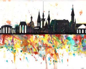 Aachen Skyline Splash