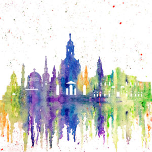 Dresden Skyline Splash