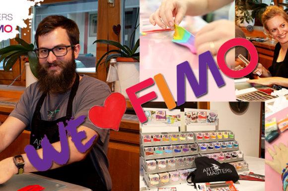 NEU bei den ArtMasters: Modellieren mit FIMO!