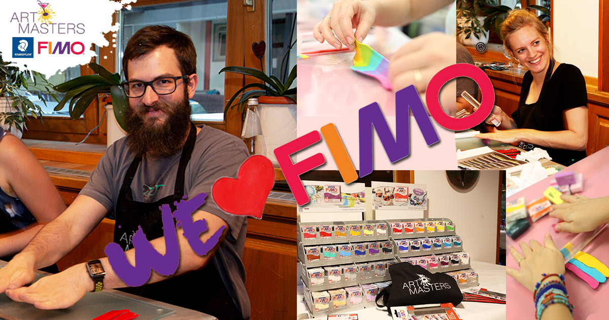 Top NEU bei den ArtMasters: Modellieren mit FIMO! - ArtMasters JV03