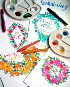 Handlettering Flourishing