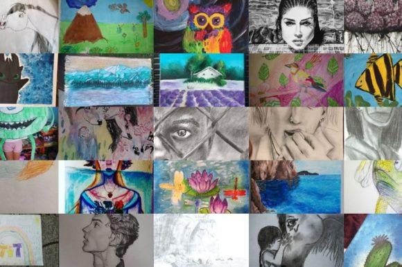 Zeigt her eure Kunstwerke! Gewinnt ein XXL-Mal-Set und viele weitere Gewinne!